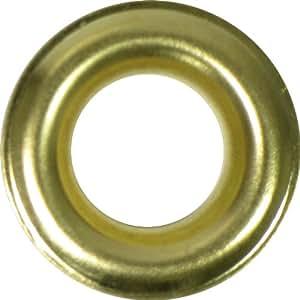 "CargoLoc 89933 24 Pc. 1/2"" Grommet Refills, Brass Plated Steel"