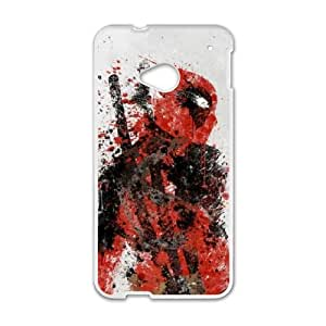 Deadpool HTC One M7 Cell Phone Case White present pp001_9819837