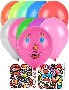 10 globos personalizados