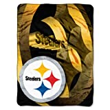 "Officially Licensed NFL Bevel Micro Raschel Throw Blanket, 50"" x 60"""