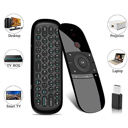 Air Remote Mouse, 57B Wireless Keyboard 2.4G Smart TV Remote with Mouse Game Handle Android Remote Control for Android TV Box/PC/Smart TV/Projector/HTPC/All-in-one PC/TV