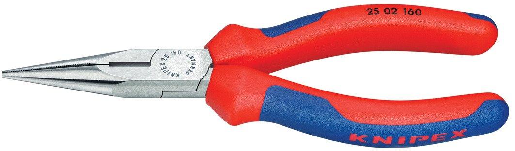 Knipex WKPT2502160 Pince à becs fins polis 160 mm 25 02 160 SB