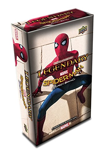 Upper Deck: A Marvel Deck Building Game: Spider-Man Homecoming Expansion from Upper Deck