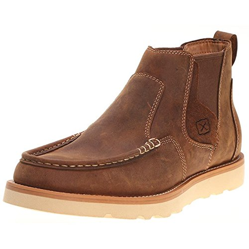 Twisted X Men's Casual Pull-On Shoes Moc Toe Brown 7 D(M) US