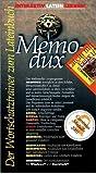 MemoDux. Felix 1 / 2. CD-ROM für Windows / PowerMac. Multimedialer Wortschatztrainer.  (Lernmaterialien)