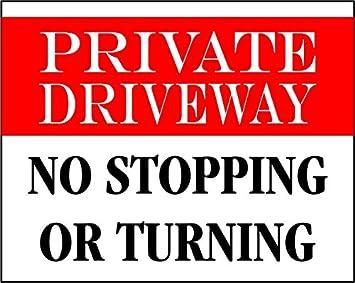 Etiqueta - Seguridad - Advertencia - Camino de entrada ...