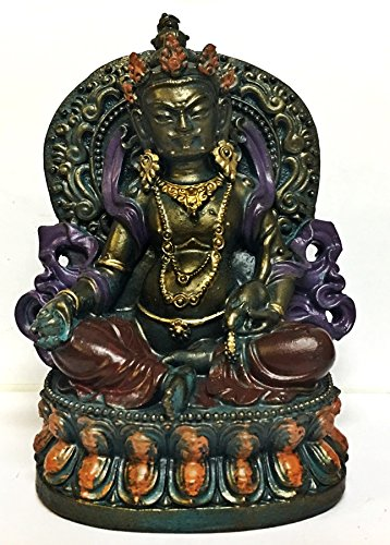 Lord Kuber Kubera God for Wealths Hindu Gods and Goddesses - Hinduism Tibet Statues (Big Lots Lawn Furniture)