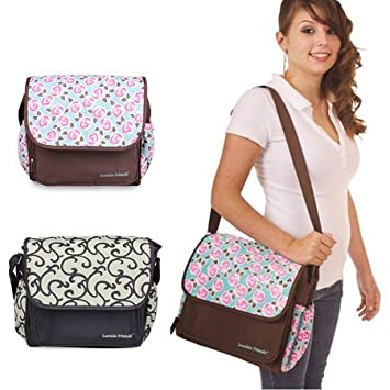 Amazon.com : High quality flower baby diaper bolsas bag ...