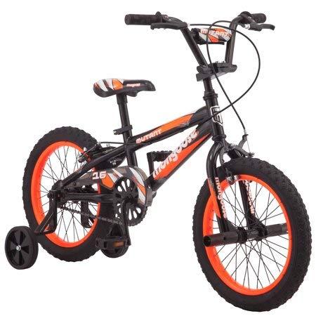 "Mongoose: 16"" Mutant Boys' Bicycle, Black & Orange"