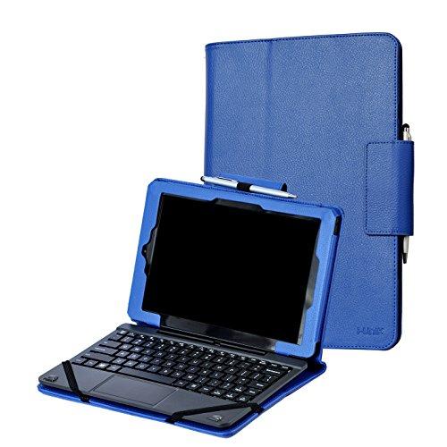 (i-UniK CASE for RCA 10 Viking Pro 10.1 & Compatible RCA 10 Viking II Tablet PC [Bonus Stylus] - (Blue))