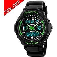Viliysun Child Watch Multi Function Digital LED Sport Waterproof Electronic Quartz Watches for Boy Girls Kids...