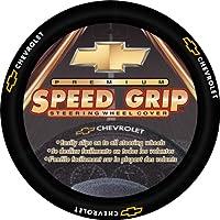 Plasticolor Chevy Gold Bowtie Style Premium Speed Grip Volante de dirección