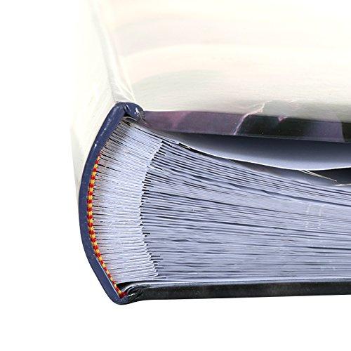 Couverture en Papier imprim/é glac/é Pages Blanches Dimensions : 33x33 cm 5 Vues par Page 3 Horizontales et 2 Verticales LCD Album Photo /à Pochettes Sweetheart Rose pour 500 Photos 10x15 cm