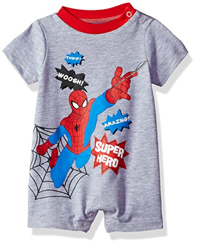 Marvel Boys' Spiderman Romper
