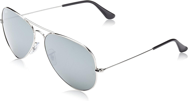 lunette ray ban aviator miroir homme