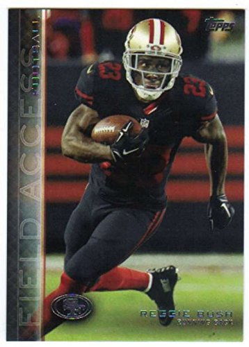 2015 Topps Field Access #137 Reggie Bush 49ers NFL Football Card NM-MT