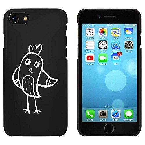Noir 'Oiseau Amical' étui / housse pour iPhone 7 (MC00076993)