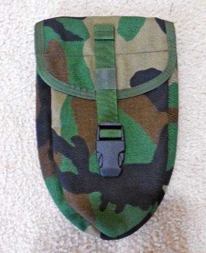G.I. USMC Woodland Camouflage E-Tool Carrier/Pouch - Woodland Nylon Belt