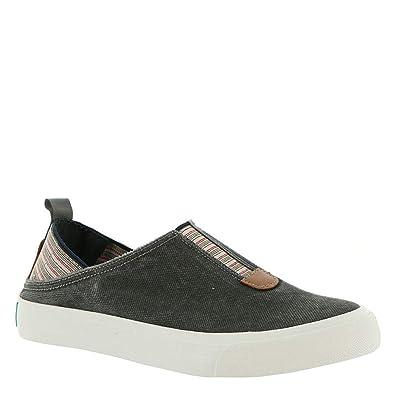 0efc9d5c1175 Blowfish Womens Munky Slip On Sneaker (Grey Smoked Canvas
