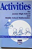 Activities for Junior High School and Middle School Mathematics, Kenneth E. Easterday, 0873531884
