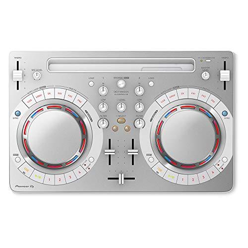Pioneer Pro DJ White DDJ-WeGO4-W (Best Ipad Dj Controller)