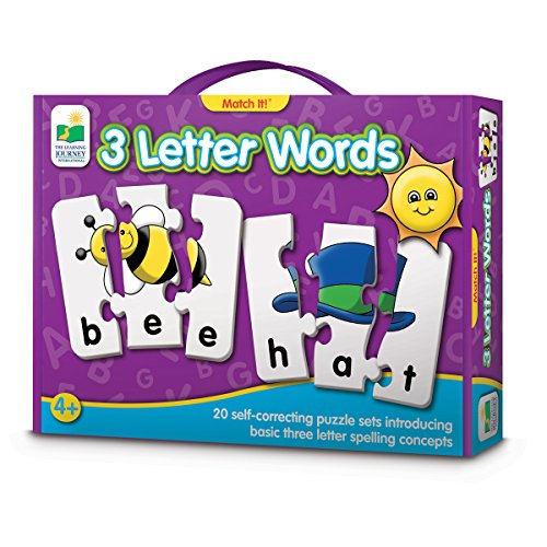 The Learning Journey Match It! 3 Letter Words
