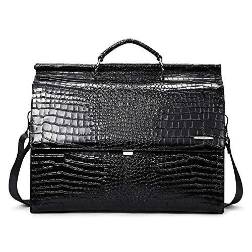 BOSTANTEN Leather Briefcase 16