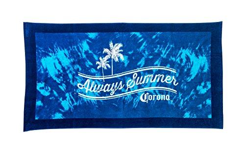 Corona Always Summer Beach Towel, Blue