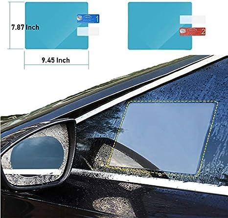Impermeabile Antiriflesso Pellicola Protettiva Per Specchietto Retrovisore Auto Pellicole Specchi Impermeabili Pellicola Protettiva Antiappannamento HD Antiriflesso Per Tutte Le Auto Antipioggia