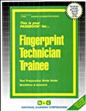 Fingerprint Technician Trainee, Jack Rudman, 0837302862