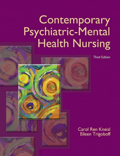Contemporary Psychiatric-Mental Health Nursing (3rd Edition) by Prentice Hall
