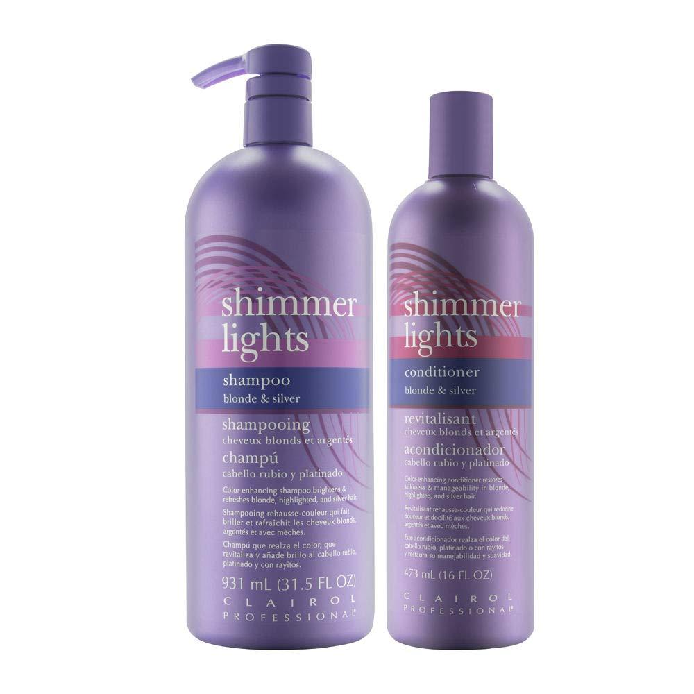 Amazon.com : Clairol Shimmer Lights Shampoo Conditioner 2