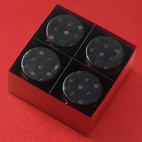 お取り寄せ(楽天) 神戸魔法の壷プリン(R)4個入 神戸フランツ 価格1,560円 (税込)