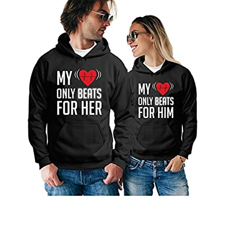 My Heart Just for Him Long Sleeve for Men Custom Hoodies Sweatshirt