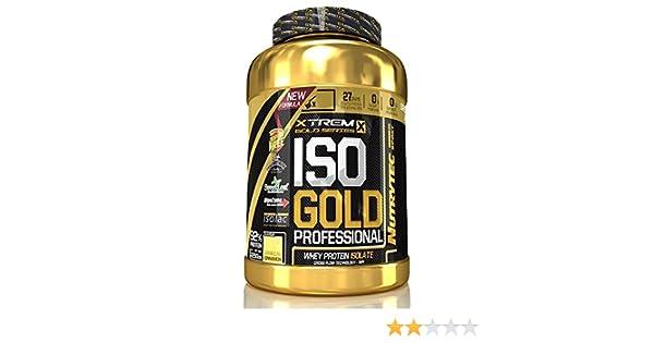 Nutrytec Xtreme Gold - ISO Gold Professional - 900g - Chocolate con Leche: Amazon.es: Alimentación y bebidas