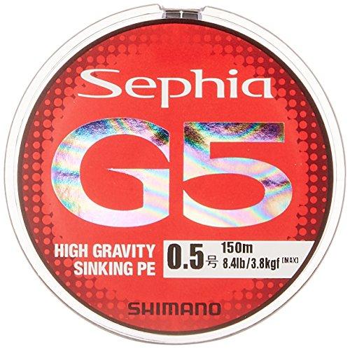 シマノ(SHIMANO) PEライン セフィア G5 150m 0.8号 マルチカラー PL-E55Nの商品画像
