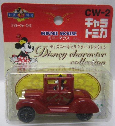 ミニーマウス(レッド) 「ディズニーキャラクターコレクション」 キャラトミカ CW-2 597988