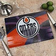"Memory Company NHL Edmonton Oilers 8"" X 11.75"" Carbon Fiber Cutting Board, One Size,"