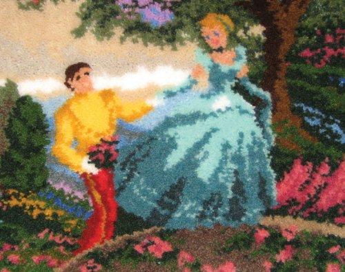 Latch Hook Kit-Cinderella Wishes Upon A Dream 1 pcs sku# 1172432MA