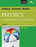 img - for Wiley's Halliday / Resnick / Walker Physics for Jee (Main & Advanced), Vol 1, 2018ed: 2017 book / textbook / text book