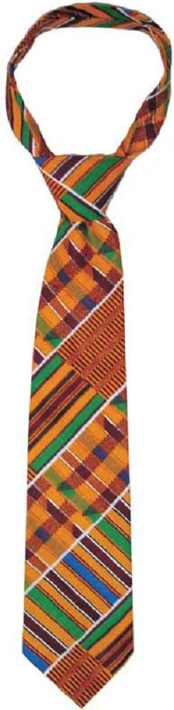 Kente African Print necktie 56 long Ashanti Necktie Men Fashion