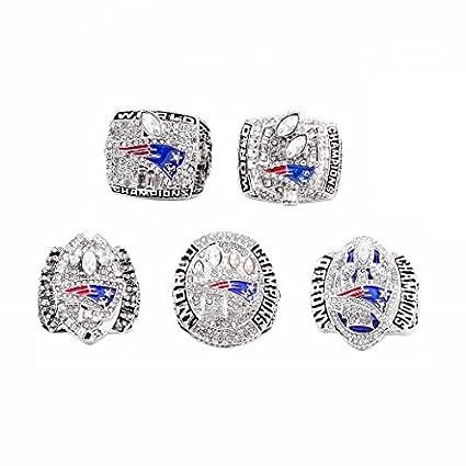 New England Patriots Super Bowl 2001 2003 2004 2014 2017 Ring Set TOM BRADY  (10 3b9a006d445