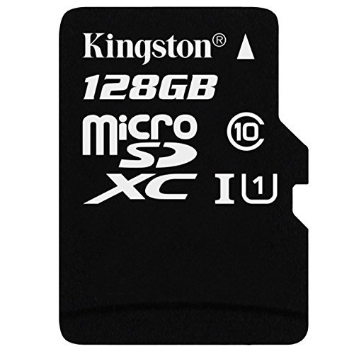 Professional Kingston 128GB Sony C6916 MicroSDXC Card with custom formatting and Standard SD Adapter! (Class 10, UHS-I) (Sony C6916)
