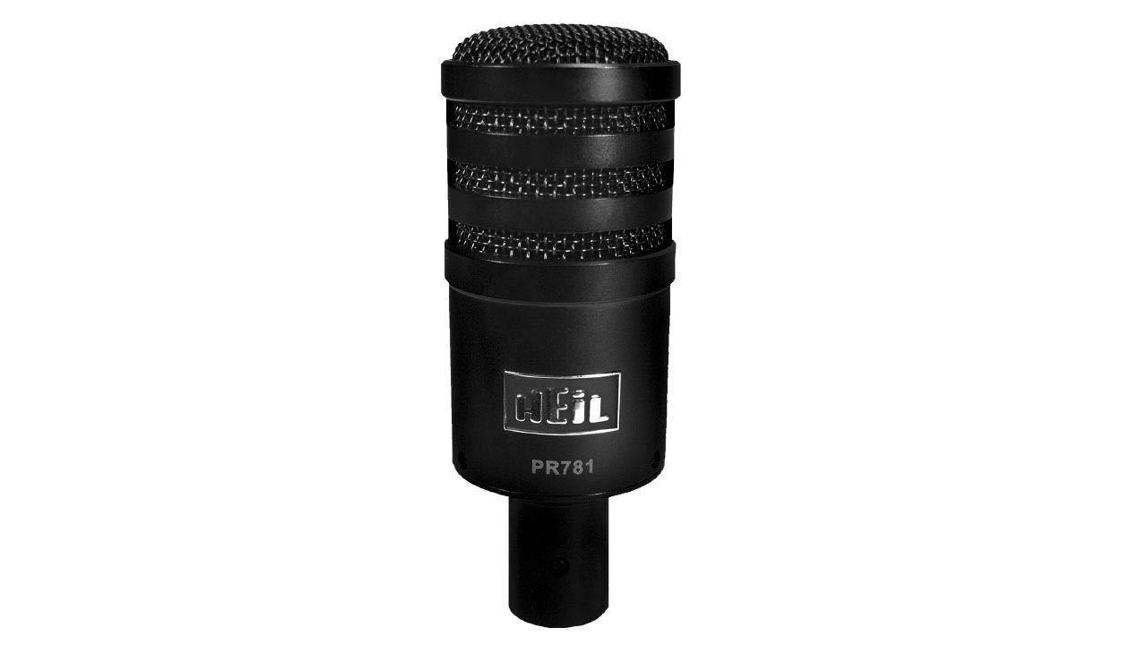 Microfono PR-781 PR781 Orginal Heil Sound Black ProLine P...