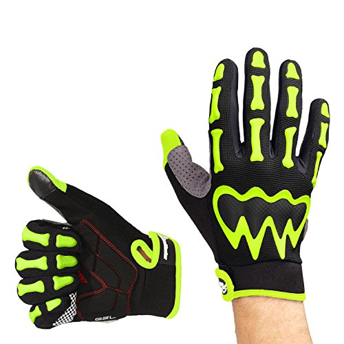 monster cycling gloves - 3