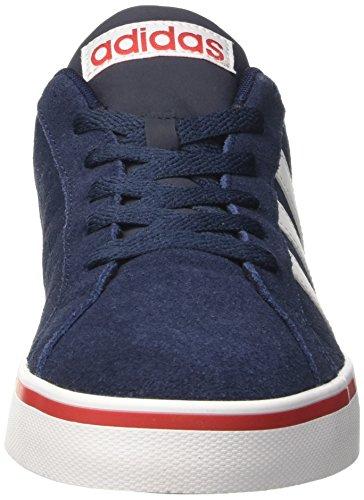 adidas Men's Pace Plus Low-Top Sneakers, Blau Navy Blue (Conavy/Ftwwht/Scarle)
