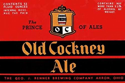 - Old Cockney Ale Poster Print by Vintage Booze Labels (24 x 36)
