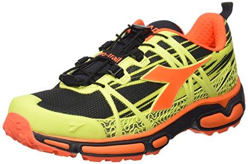 Giallo Mixte Fluo giallo Adulte nero Diadora c4102 Race Chaussures Trail wq1cF7XZC