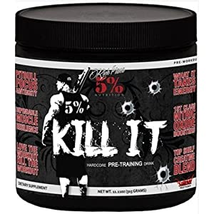 Rich Piana 5% Nutrition Kill It (Lemon Lime) 11.11 oz (315 grams) by Rich Piana