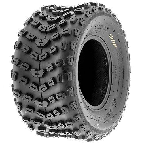 SunF A005 ATV/UTV Off-Road Tire 22x11-10, 6 PR, Trail|XC|Sport, Knobby Tread by SunF